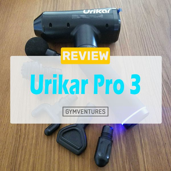 Urikar Pro 3 Massage Gun Review