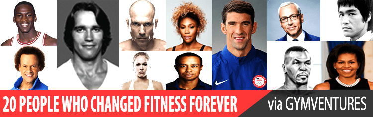 19 People Who Changed Fitness Forever