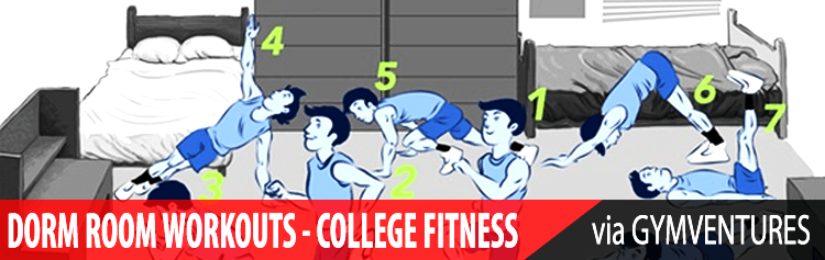 Effective Dorm Room Workouts (& What Equipment You'll Need)