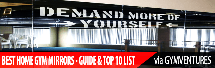 10 Best Home Gym Mirrors (& Guide on Buying Them)