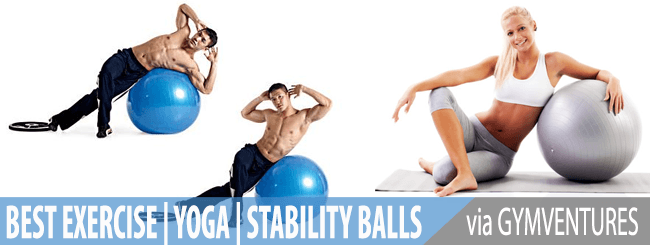 10 Best Exercise Balls for Yoga & Stability Sessions