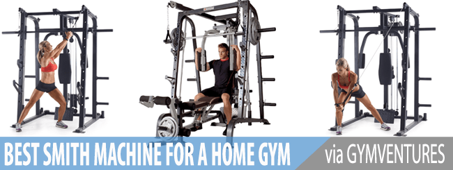 Best Smith Machines for Your Home Gym