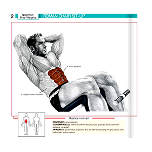 Abdominal Machine For Ab Muscles Workout Equipment For Exercising