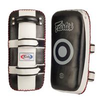Fairtex Curved Thai Kick Pads Mma Gear For Training Kicking Shield