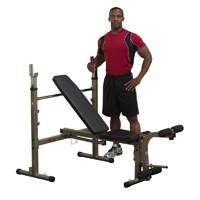 Best Fitness Olympic Weight Bench With Leg Developer