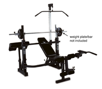 Phoenix 99226 Power Pro Olympic Bench For Weight Lifting