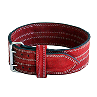 Ader 4 Inch Leather Power Lifting Belt