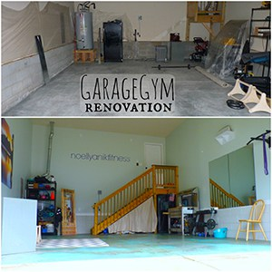 Crossfit Garage Gym Ideas Epitomized, This Before And After Shows What Can Be Accomplished With A Little Elbow Grease.