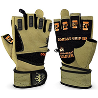 Crown Gear Soldier Military Style Weightlifting Gloves