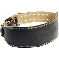 Harbinger 284 4 Inch Padded Leather Lifting Belt