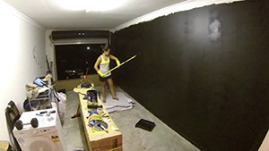 Home Gym Painting And Prepping The Garage. Enduring Task, But Well Worth It Once Its All Done.