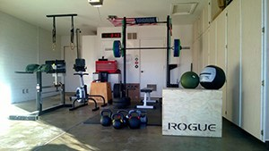 May Be A Little Hard To Move And Park The Car, But This Garage Gym Is Packed With All Things Strength Traning.