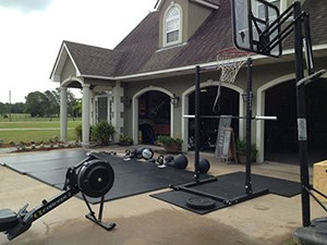 Power Rack Home Gym Outdoors Idea, Do Crossfit In The Sunny Or Cloudy Weather At The Comfort Of Your Own Home Gym.