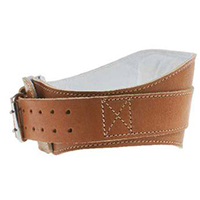 Schiek 6 Inch Contour Leather Lifting Belt