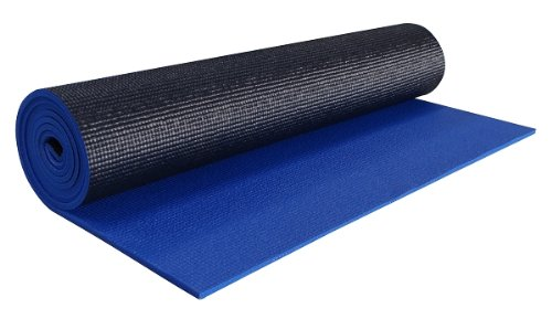 YogaAccessories quarter-inch Extra Thick Deluxe Good Yoga Mat