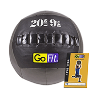 Gofit Wall Ball With Training Manual