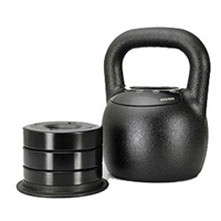 Adjustable Kettlebell Weight: 20 - 40 lbs by Mileage Fitness