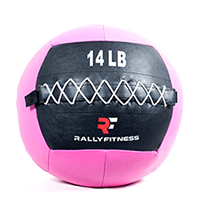 Rally Fitness Pink Wall Ball