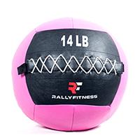 Rally Fitness Pink Wall Ball