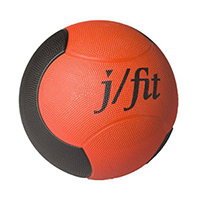 J Fit Premium Rubberized Medicine Ball