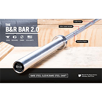 Burgener And Rippetoe 20 Kg Men's Bar By Rogue