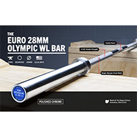Rogue Euro 28 Mm Olympic Wl Bar