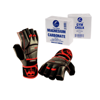 Chalk And Weight Lifting Gloves