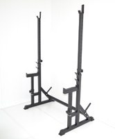 squat Rack With Bench Safety Stands H.d. Adjustable Power Weight Racks By Atlas
