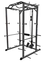 Valor Fitness Bd 33 Heavy Duty Power Cage With Band Pegs And Multi Grip Chin Up