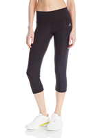 Adidas Women's Performer Mid Rise Capri Tights Best Women's Compression Leggings