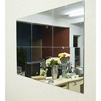 Alrens(tm) 30cm X 30cm Silver 6 Pcs Squares