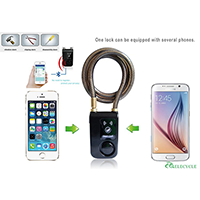 Bluetooth Smartphone Controlled Bike Lock