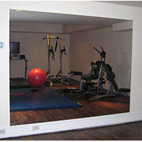 Glassless Mirror (wall Mounted)