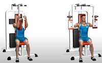 Pec Deck Machine (chest) Exercise Alternatives