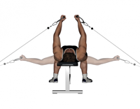 Cable Crossover Flies (chest) Machine Exercise Alternatives