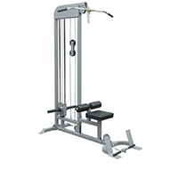 Champion Pull Down And Low Row Combo Machine