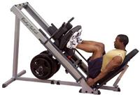 Body Solid Leg Press & Hack Squat Machine