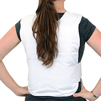 Concealable Cool Vest With Comfort Pack Personal Cooling Vest