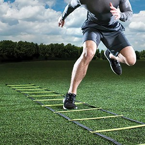 ghb-pro-agility-ladder-agility-training-ladder-speed-flat-rung-with-carrying-bag