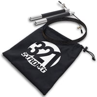 321 Strong Aluminum Fitness Jumprope With Ball Bearing Handles
