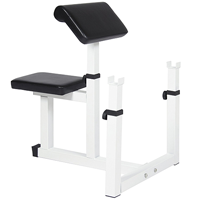 Adjustable Preacher Arm Curl Bench By Best Choice Products