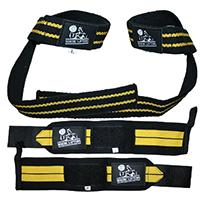 Best Wrist Wraps & Lifting Straps Bundle By Nordic Lifting