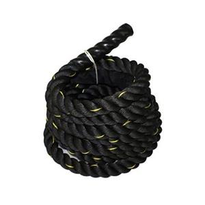 Da Vinci Black Poly Dacron Battle Rope For Crossfit