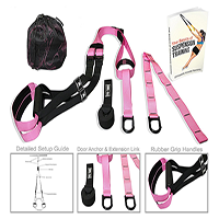 Dynamite Power Training's Suspension Trainer Straps With Ebook