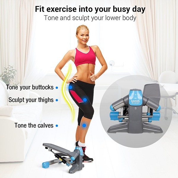FP1 Exercise Stepper Mini Step Swivel Elliptical Trainer