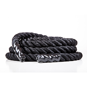 Fitness Solutions Usa Made Black Poly Dac Training Ropes