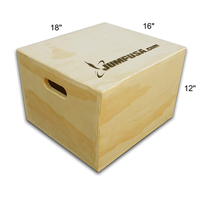 Fully Assembled 3 In 1 Plyometric Jump Box By Jumpusa