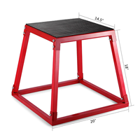 Happybuy Plyometric Platform Box For Training