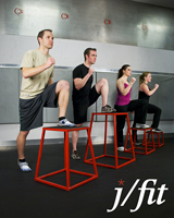 J Fit Plyometric Jump Boxes