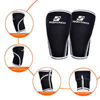 Knee Sleeve (pair) Support And Compression For Fitness